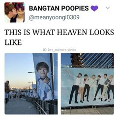 And I'm guessing this heaven is in Korea?