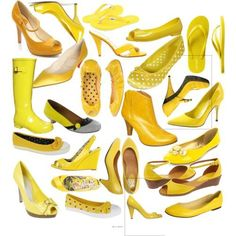 yellow items | Fabulous*Fabs: And they were all yellow!!!