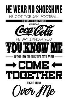 The Beatles ♥  Conocé a Dejate Llevar en http://dejatellevar1.com.ar/