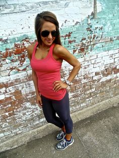 Work It Out - Coral- Love for working out or just wearing around the house