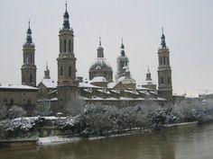Barcelona Cathedral, Statue Of Liberty, Notre Dame, Taj Mahal, Building, Travel, Nevada, Zaragoza, Antique Photos