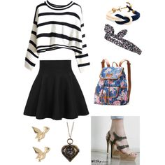 Untitled #6 by ellenks on Polyvore featuring polyvore, fashion, style, Wifky, UNIONBAY, M&Co and Topshop