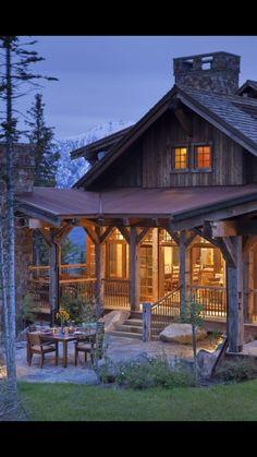 Back porch idea. Great outdoor space