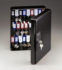 Key Storage Cabinet Safe Wall Mount Organizer Holder Rack Security Lock Box  Tags #SentrySafe
