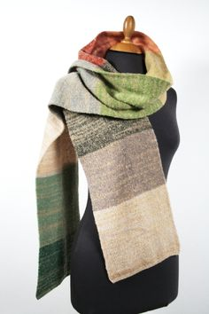 Unisex Schal, Luxus Winterschal aus Wolle, Unikat, Geschenk für Männer Knitting Accessories, Bunt, Mittens, Beige, Unisex, Etsy, Knitting Scarves, Socks, Accessories