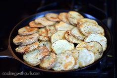 Irish Nachos skillet cookingwithcurls.com