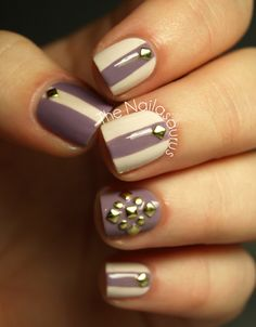 The Nailasaurus | UK Nail Art Blog: Pretty Polish? With a Stud on Top!
