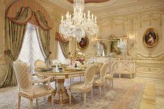 Luxury Dining Room   Haleh Design, Inc.