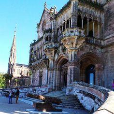 Palacio de Sobrellano en Comillas Estilo neogótico  #Esta imagen tiene Copyright