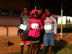 Check out the AWESOME club that women in Swaziland started for girls!