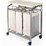 Amazon.com - EasyComforts Laundry Cart With Wheels -