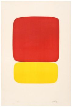 Ellsworth Kelly Red over Yellow