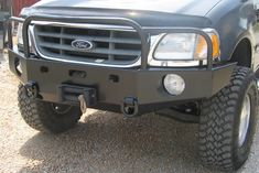 Front Winch Bumper Ford F-150 & Expedition (97-03)
