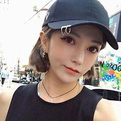 Kpop EXO Sehun Baseball Cap Hip-hop Hat Rings Embroidery Décor Adjustable Cap 1 at Amazon Women's Clothing store:
