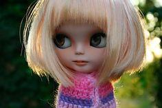 Buffy by erregiro, via Flickr  I love the hair!  #blythe #custom #cute