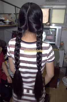 Pony Hairstyles, Indian Hairstyles, Pretty Hairstyles, Twin Braids, Braids For Long Hair, Beautiful Long Hair, Amazing Hair, Long Indian Hair, Ponytail