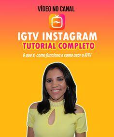 IGTV Instagram | Tutorial Como Usar e Como Funciona o IGTV. Neste vídeo você vai aprender tudo sobre a nova ferramenta de vídeos do Instagram (IGTV), como criar o seu canal, configurar e postar vídeos no IGTV. Confira! #IGTV #igtvinstagram #instagramigtv #instagram #instagramtv