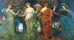 Let's keep it wild.: Four allegories of the four seasons