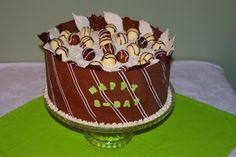Cida's Culinarts: Bolo de chocolate collar