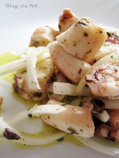 Blog da Nô: Salada de Polvo
