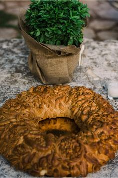 traditional Cretan wedding bread. Weddings in Crete by Crete for Love. www.creteforlove.com