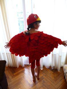 Bird costume for kids!