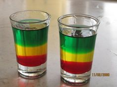 Bob Marley shot in Jamaica. Hands down the most potent shot I have ever had. Absolutely.