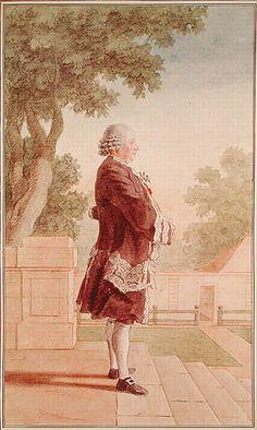Le Marquis d'Espiez / By Carmontelle.