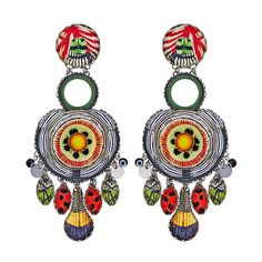 Ayala Bar Swing Song Limited Edition Earrings, part of our full line of Ayala Bar jewelry and the Ayala Bar Spring 2019 collection. Bar Earrings, Bar Necklace, Swing Song, Ayala Bar, Artist Card, Summer Necklace, Color Shapes, Fashion Earrings, Crystal Rhinestone