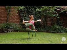 Yoga Chair Routine: Aligned & Steady - YouTube