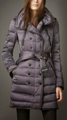 Love the look on this puffer coat which helped me with the shape and style of my coat.