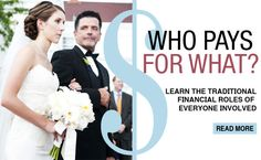 "While there are no ""rules"" about who pays for the wedding these days, these are good to know!"