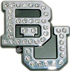 #Baylor crystal car emblem