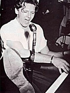 "Jerry Lee Lewis (born September 29, 1935) Rockabilly and country music singer-songwriter and pianist. He is known by the nickname ""The Killer"".  Lewis had hits in the late 1950s with songs such as ""Whole Lotta Shakin' Goin' On"",  However, Lewis' rock 'n' roll career faltered in the wake of his marriage to his young cousin. He had little success in the charts following the scandal until his popularity recovered in the late 1960s after he extended his career to country and western music."