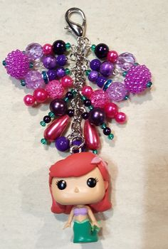 Ariel Purse Charm    available at www.facebook.com/magic365