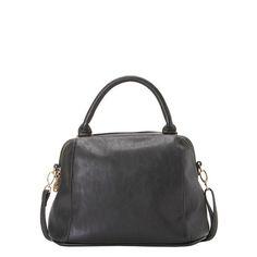 Handbag in black.
