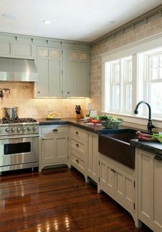 Farmhouse-style kitchens tend to focus on natural materials, unpretentious design, and cooking spaces that can accommodate large meals. If you're thinking of kitchen decorating or remodeling,…