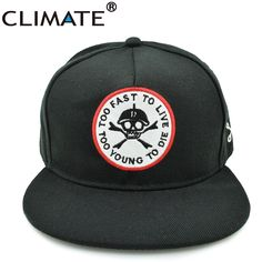 CLIMATE Bratson From Chaos Famous Skull BoneWarrior Dancer Adjustable hiphop Snapback cap hat  for young men women boys girls