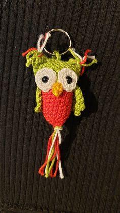 Häkel - Eule, Amigurumi Owl, Schlüsselanhänger / keychains Crochet Earrings, Blog, Christmas Ornaments, Holiday Decor, Amigurumi, Crochet Owls, Hobby Horse, Creative Crafts, Crafting