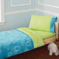Pem America Alex 4 Piece Toddler Bedding Set...... Love these colors!!!!!