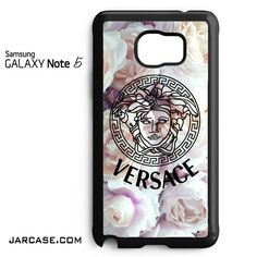 Versace Flower Arrt Phone case for samsung galaxy note 5 and another devices