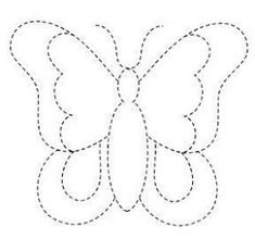 New Ideas Embroidery Butterfly Felt Sewing Appliques, Applique Patterns, Spring Activities, Preschool Activities, Butterfly Felt, String Art Patterns, Butterfly Template, Dot Painting, Drawing For Kids