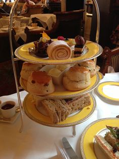 Tea at the Goring Hotel, London.  If staying here isn't in your price range then do treat yourself to class/traditional Tea, at The Goring Hotel.  Great value, great service and ambience, food is superb, walk in the gardens afterwards.