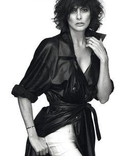 Ines de la Fressange by Mert Alas & Marcus Piggott for Vogue Paris December January 2014-2015