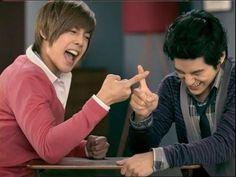 The cutest pic of Kim Hyun Joong and Kim Bum!!!!! #BoysOverFlowers #CF
