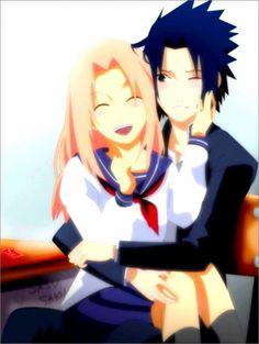 Sasuke and Sakura | sakura sasuke - Naruto shippuden je n'abandonnerai jamais c'est...