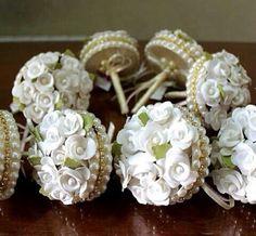 Мини букет невесты
