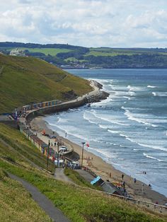 Beach at Whitby, North Yorkshire, England by Camperman64