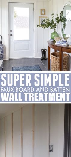 Faux Walls, Board And Batten, Just Keep Going, Basic Grey, Accent Walls, Baseboards, Wall Treatments, Paint Cans, Home Look