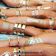 Wauw!! De bohemian flash tattoo is de fashion musthave van dit seizoen! Leuk voor een festival en het strand! Nu verkrijgbaar bij FashionHaves! Bekijk hier de collectie --> http://www.fashionhaves.nl/nieuw